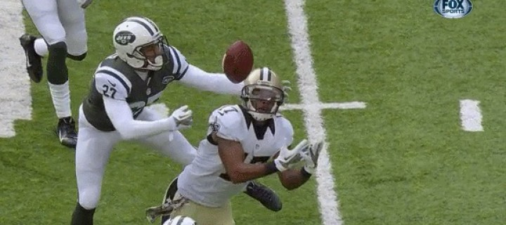 GIF Study: Saints vs Jets Edition