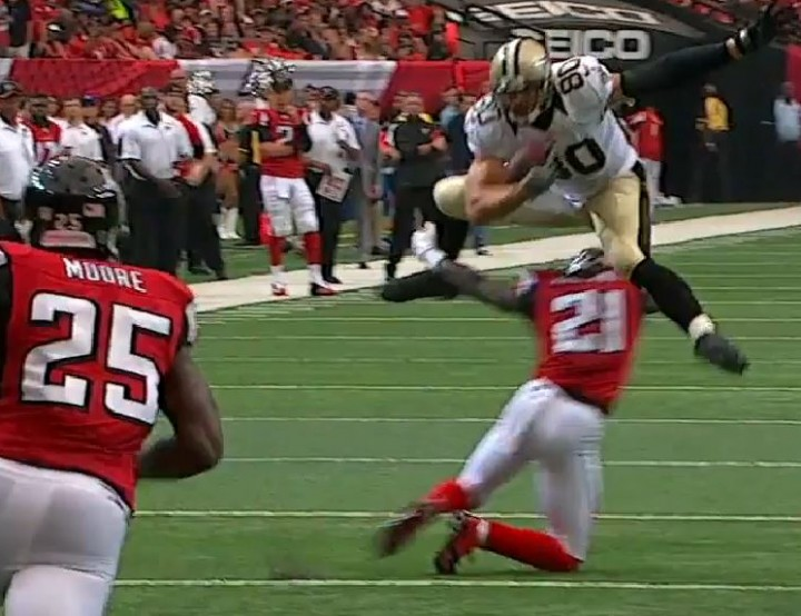 And for Falcons Hate Week, Gifs of the New Saints