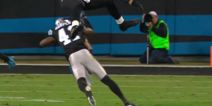 Gifs of Roman Harper Missing Tackles vs the Saints Last Night