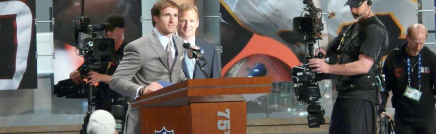 Drew_Brees_announces_the_Saints'_draft_pick_at_the_NFL_2010_Draft