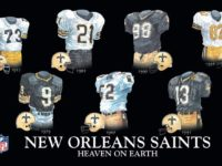 2017 Saints Jersey Guide